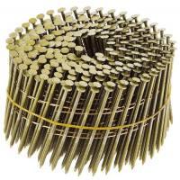 Clavo bobina rollo coil anillado para clavadoras neumáticas