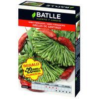 Semillas de nabo tipo grelos Santiago en caja de 250 gramos