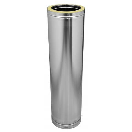 Tubería chimenea acero inoxidable aislada Dinak DP 024 460 mm Aisi 316L-304