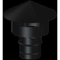 Sombrerete antiviento tubería de acero vitrificado Dinak DP 012