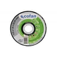 Disco abrasivo Cofan carburo de silicio para corte de piedra