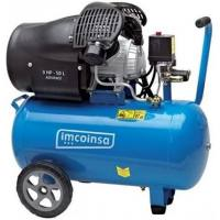 Compresor Imcoinsa monofásico 0453E cilindros en V 3 HP calderín 50 L