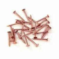 Tirafondos de cobre de 5 x 45 instalación de canalon de cobre 100 uni
