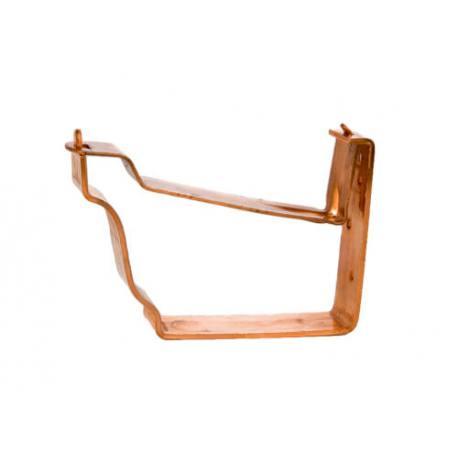 Palomilla corta para canalón de cobre diseño cornisa