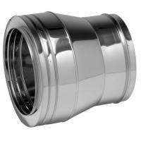 Ampliación para tubería aislada Dinak DP 026 Hembra - Macho Aisi 304-304
