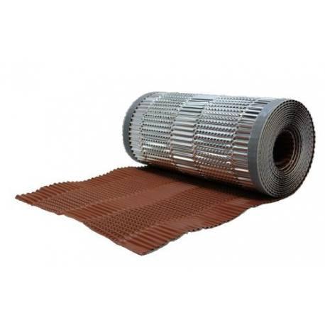 remate cumbrera en seco corovent m 300 mm 5 m color ladrillo. Black Bedroom Furniture Sets. Home Design Ideas
