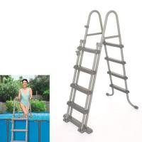 Escalera para piscina Bestway 4 peldaños 122 centímetros