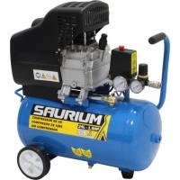 Compresor de aire monofásico Saurium 1.5 Hp 24 Lt 8 bar 138 L/Min