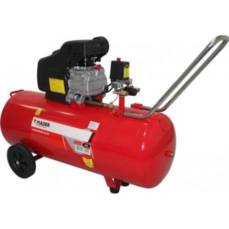 Compresor de aire monofásico Mader Power 2.0 Hp 100 Lt 206 L/min