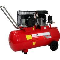 Compresor de aire con correas Mader motor monofásico 2.75 Hp 100 Lt