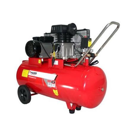 Compresor de aire monofásico con correas Mader Power 3.0 Hp 100 Lt