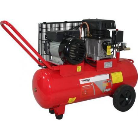 Compresor de aire Mader monofásico 2.75 Hp 50 Lt 224 L/min