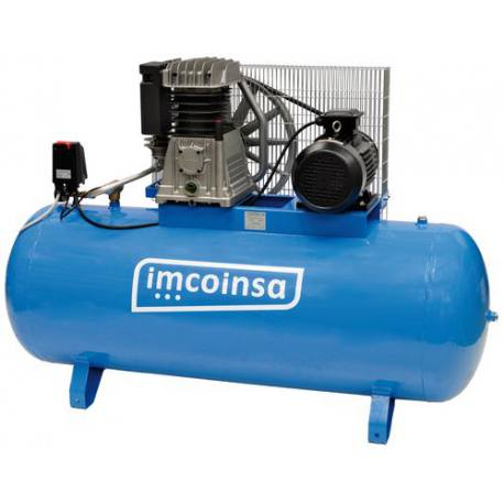 Compresor industrial trifásico Imcoinsa 0407 500 Lt 7.5 Hp