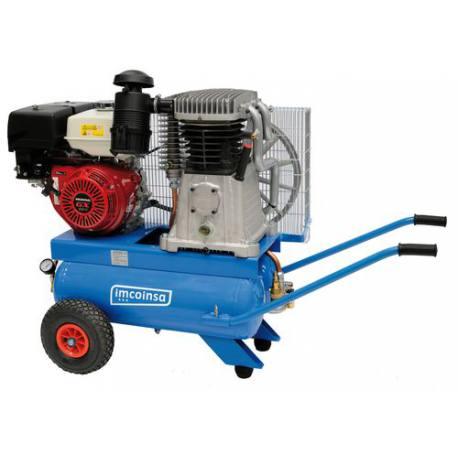 Motocompresor Imcoinsa 0428 motor Honda GX390 13 Hp 2x24 Lt