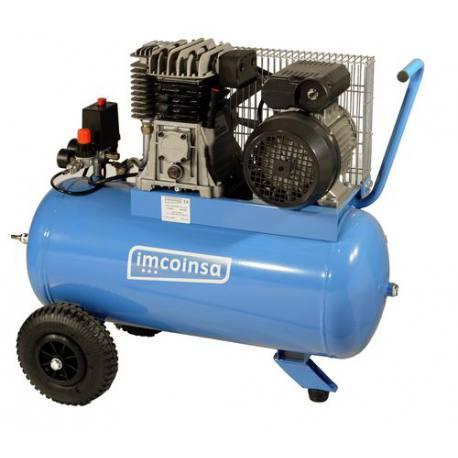 Compresor de correas Imcoinsa monofásico 04432R 3 Hp calderín 50 Lt