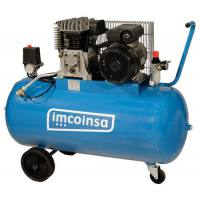 Compresor de correas Imcoinsa trifásico 04434T 3 Hp calderín 200 Lt