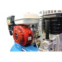 Compresor de aire Saurium Dual motor gasolina 5.5 Hp + eléctrico 3 Hp 150 Lt