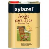 Aceite nutritivo color miel para madera de Teca Xylazel