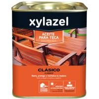 Aceite nutritivo incoloro para madera de Teca Xylazel
