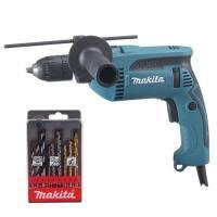 Taladro percutor Makita hp1641k1x 680 W 13 mm