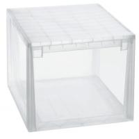 Caja multiusos transparente 50 L 37.6x52x31 cm