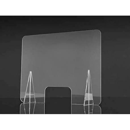 Mampara separadora de metacrilato 100cmx80cmx3mm