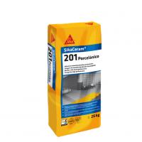 Adhesivo cementoso Sika Ceram-201 Porcelánico 25Kg