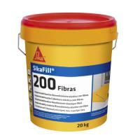 Pintura impermeabilizante para cubiertas con fibra Sikafill 200 color rojo teja