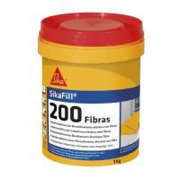 Pintura impermeabilizante para cubiertas con fibra Sikafill 200 color rojo