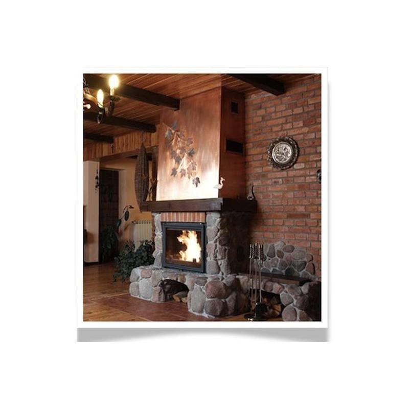 Chimenea calefactora amelia 30 kw calefacci n - Calefaccion por chimenea ...