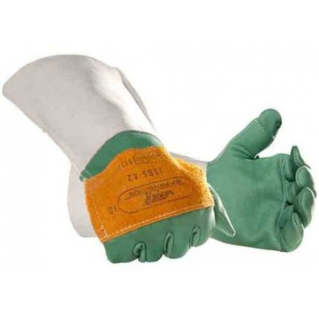 Guante anticorte motosierra protección 2 manos clase 1