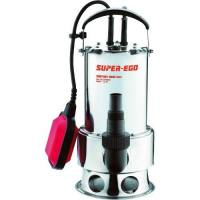 Bomba sumergible Super-ego subvort aguas sucias inox 900 W