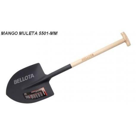 Pala punta Bellota mango muleta 5501