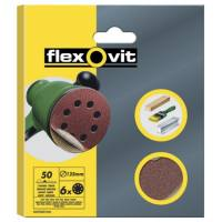 Disco lija velcro 125 mm 8 perforaciones