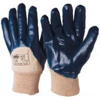 Guante nitrilo azul Juba Bolsa de 12 pares