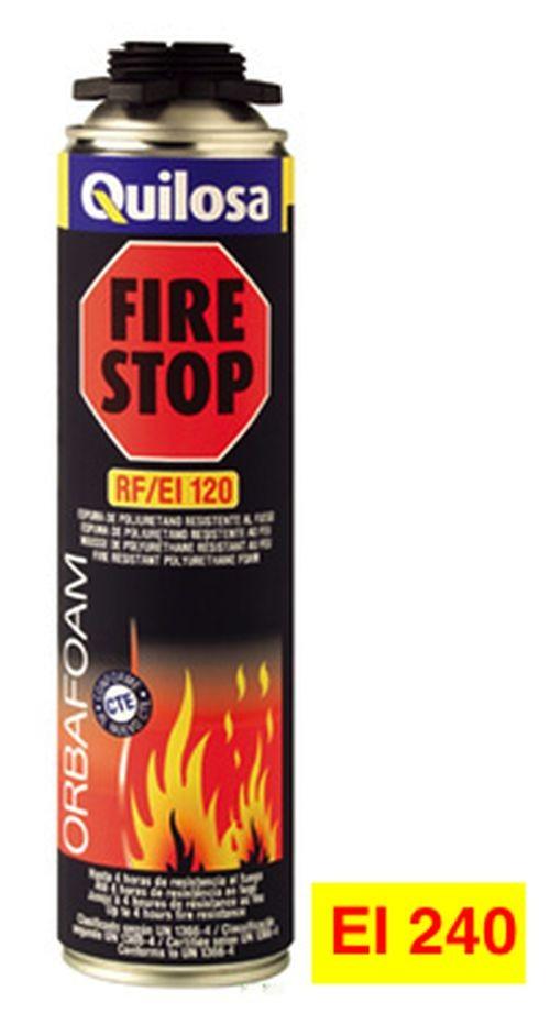 1689748fa80 Espuma ignífuga de poliuretano Quilosa Fire Stop.