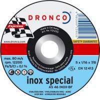 Disco corte acero inoxidable Dronco cdi special exp