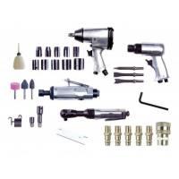 Pistola neumática de impacto Nuair kit 4 herramientas y 34 piezas