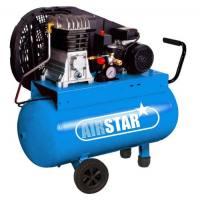 Compresor correas Nuair Airstar 50L presión 9 bar
