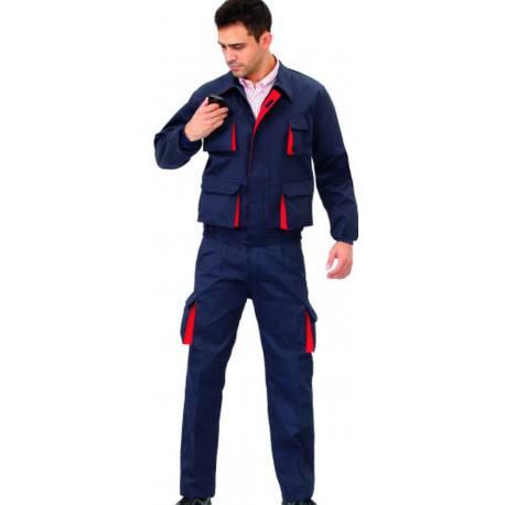 Pantalon laboral Vesin Cargo tergal L5000 azul marino
