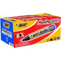 Rotulador permanente Bic Caja de 12 unidades