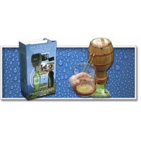 Escanciador sidra barril con vaso y botella ocio y jard n for Ocio y jardin