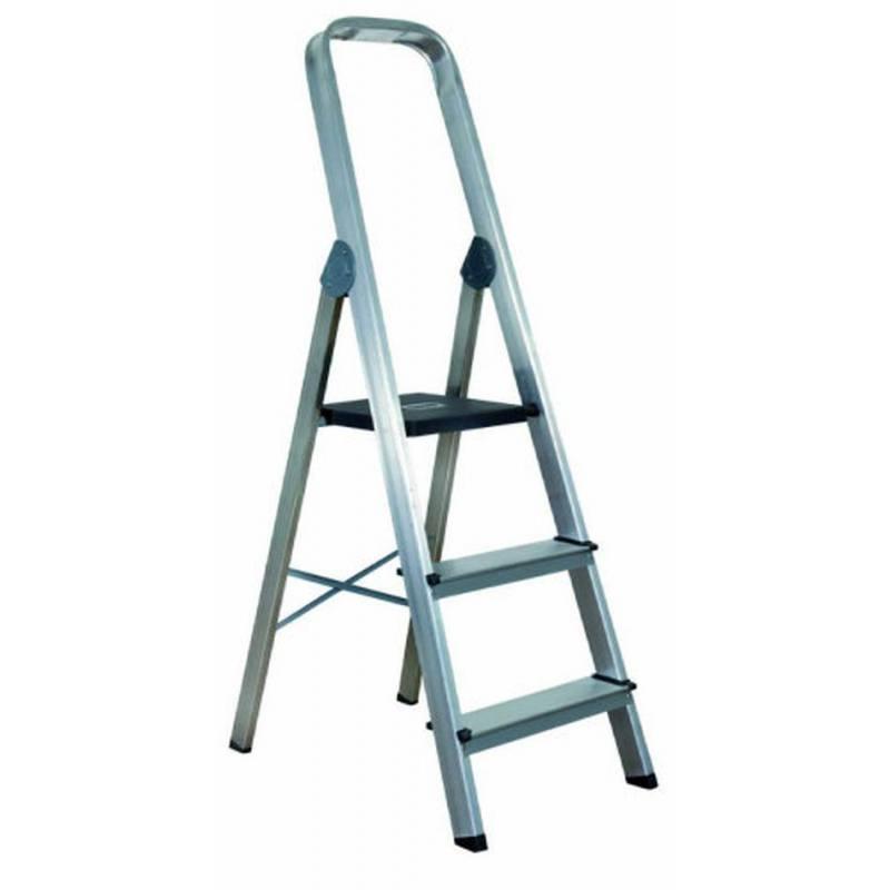 Escalera De Tijera De Aluminio Dom Stica Almesa