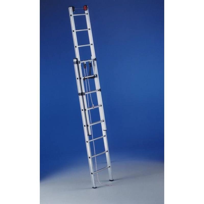 Escalera de aluminio 2 tramos svelt herramienta construcci n for Escaleras 2 tramos