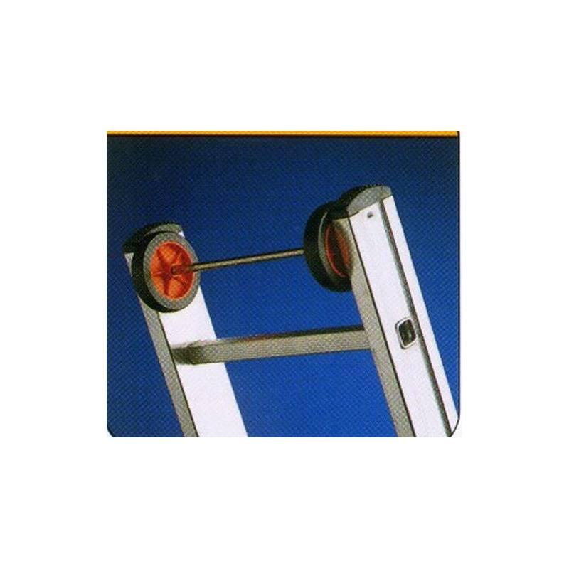 Casas cocinas mueble escalera aluminio 2 tramos - Escaleras aluminio precios ...