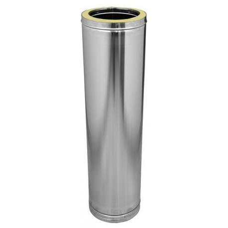 Tubería chimenea inoxidable aislada Dinak DP 960 mm Aisi 304-304
