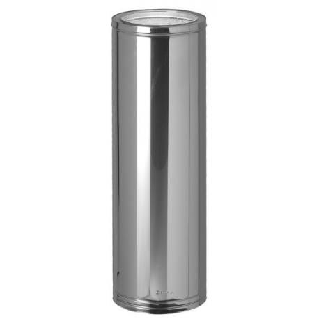Tubería chimenea acero inoxidable aislada Dinak DP 960 mm 304-304 silenciosa