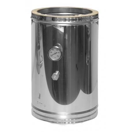 Módulo chimenea inoxidable para temperatura de humos Dinak DP Aisi 304-304