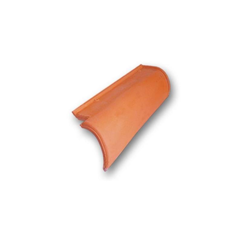 Teja remate lateral curvo mazarr n derecha construcci n - Ceramicas mazarron ...