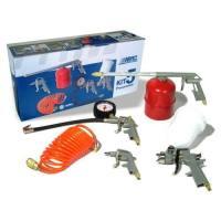 Kit herramienta neumática aerográfico Abac 5 piezas